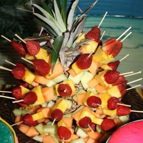 Pinterest Discover And Save Creative Ideas Fruit Kabob Centerpiece