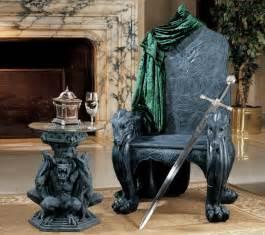 Dragon Home Decor Celtic Dragon Throne Halloween Pinterest