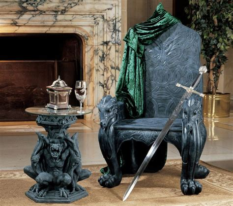 End Tables Amazon Celtic Dragon Throne The Green Head