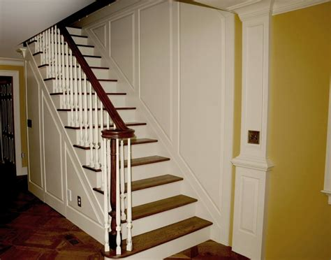 wainscoting stairs stair and wainscot paneling