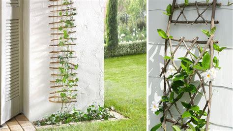 Support Plante Grimpante Bambou by 5 Tuteurs Et Treillages Originaux 224 Faire Soi M 234 Me