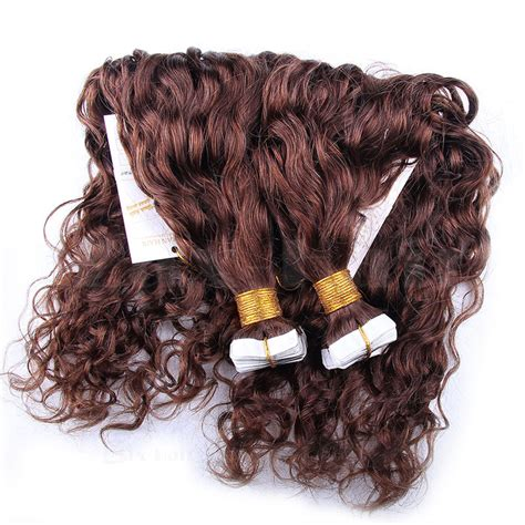30 inch 4 27 brown 10 30 inch in remy human hair extensions 613