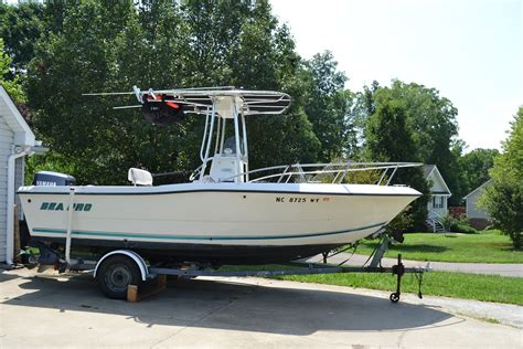 sea pro boats price price reduced 2001 21 ft center console sea pro ready to