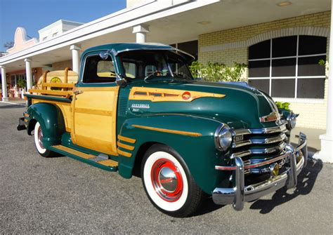 1950 chevrolet 3100 custom woody retro fv wallpaper