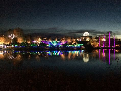 holiday lights at lewis ginter botanical gardens miss