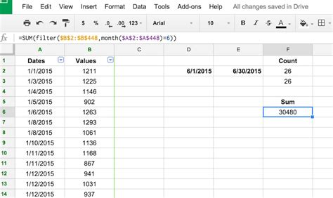 format date google sheets formula using the filter function to return specific values in a