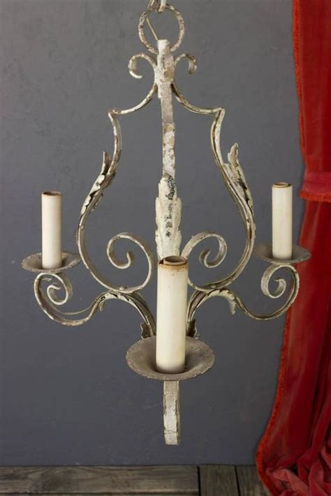 Small Wrought Iron Chandeliers Small Wrought Iron Chandelier For Sale At 1stdibs