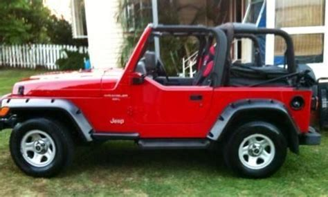 Jeep Wrangler Tj Half Doors 1997 Jeep Wrangler Tj Half Door Soft Top Jeep Wrangler