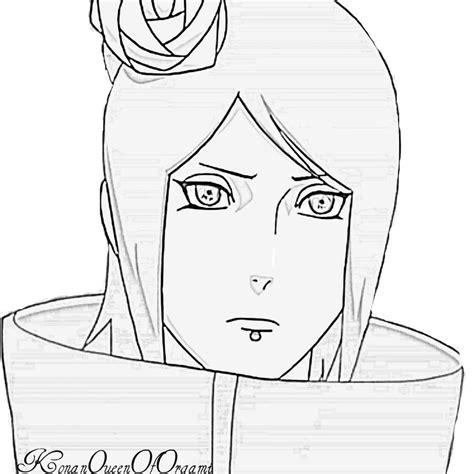 konan paper flower tutorial konan lineart by konanqueenoforgami on deviantart