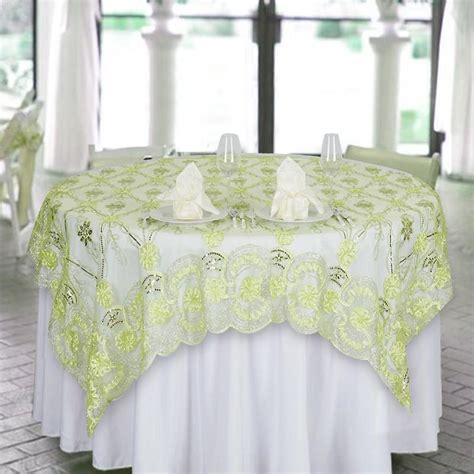 72 x 72 table overlay 72 quot x 72 quot the fashionista style lace table overlay tea