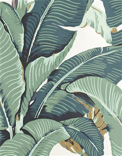 banana leaf wallpaper beverly hills hotel poudre inspiration and the originals on pinterest