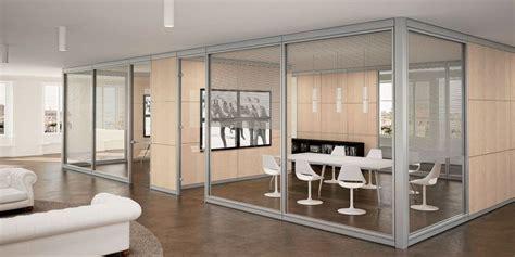materiali per ufficio vetro e legno materiali per pareti divisorie da ufficio