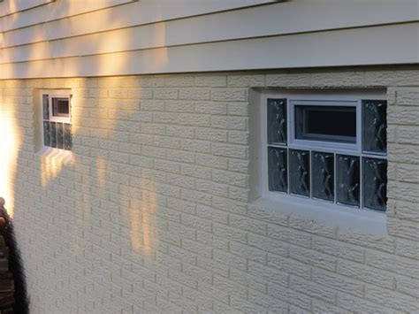 replacing your basement windows glass block security windows