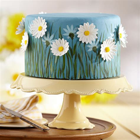 field of daisies cake wilton