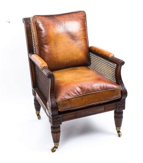 bergere armchairs pair of regency style mahogany bergere armchairs for sale