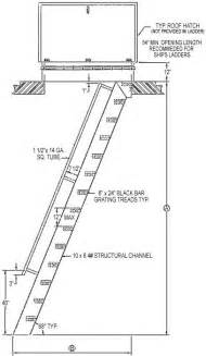Access Stairs Design Hatch Access Flush Top Ships Ladder Structural Steel Stairways Ships Ladder Design
