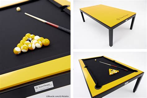 Pool Table Conference Table Veuve Clicquot Billiard Fusiontable2luxury2
