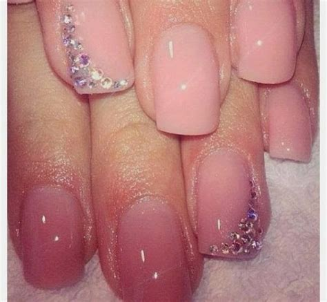 Light Pink Nails by Best Light Pink Nail Designhttp Nails Side