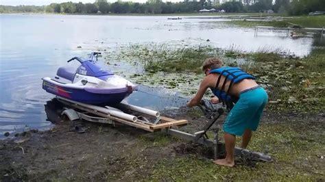 houseboat jet ski r homemade jet ski dock homemade ftempo