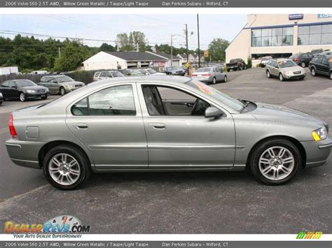 volvo s60 2 5t 2006 volvo s60 2 5t awd willow green metallic taupe