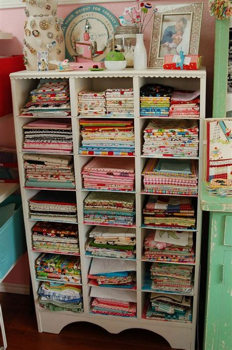 sewing room storage fabric storage idea i need this sewing rooms