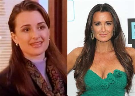 what does kyle richards do to make her hair look thicker kyle richards plastic surgery did she really needed to