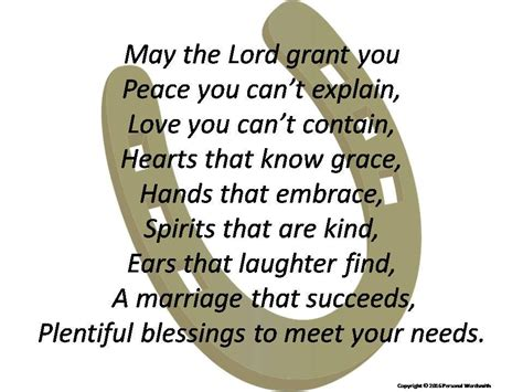 Wedding Blessing In by Inspired Wedding Blessing Print Marriage Blessing