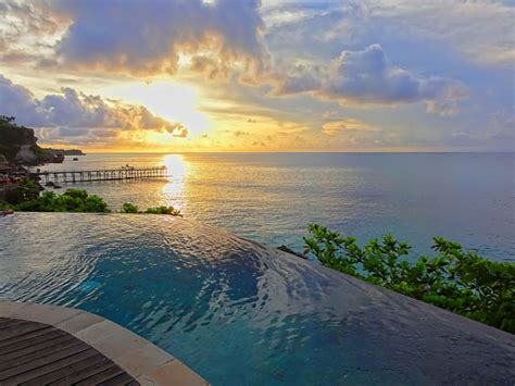 bali infinity pool 10 bali infinity pools you need to see to believe