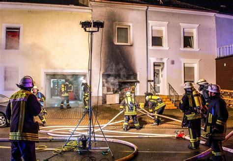 saarpfalz garage feuer zerst 246 rt garage in reihenhaus blaulichtreport