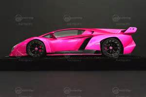 Pink Lamborghini Veneno Lamborghini Veneno Mr Models 1 18 Modelcar In Pink Flash