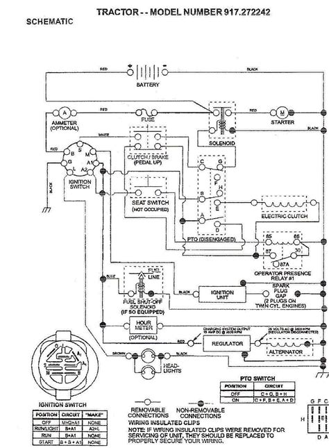 wiring diagram for craftsman dyt 4000 craftsman