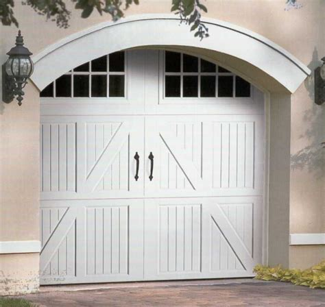 Carriage Barn Style American Excellence L L C Garage Garage Doors Barn Style