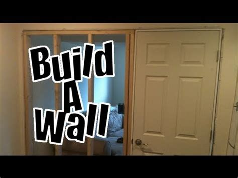 build a wall in a finished basement diy nandemoguy