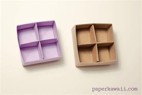 Masu Box Origami - origami masu box divider tutorial paper kawaii