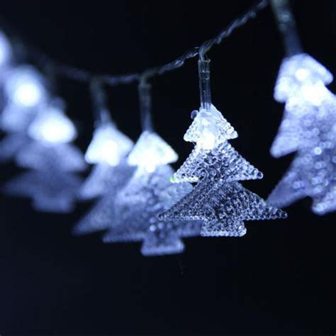 Buy Tree Shaped Led White Light Christmas String Fairy Where To Buy White String Lights