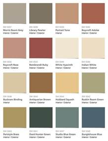 sherwin williams paint colors interior sherwin williams historic color collection arts