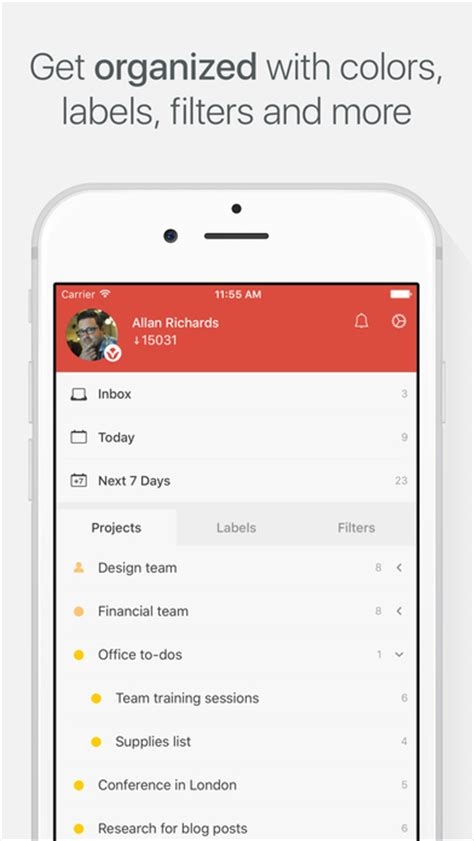 apps for errands todoist todo list for organizing work and errands apppicker