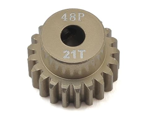 3racing Pinion Gear 48 Pitch 18t 48p aluminum pinion gear 21t by ruddog rdgrp 0021