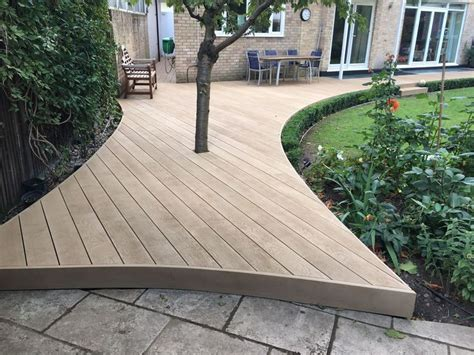 ideas  composite decking  pinterest trex