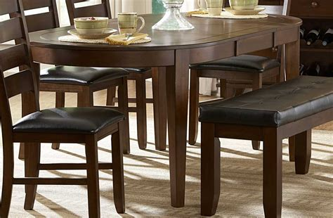 oval dining table with bench oval dining table for contemporary dining room 747