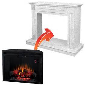 Electric Fireplace Outlet by Electric Fireplace Inserts Comparison