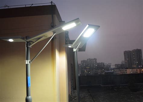 30w Led Integrated Solar Panel Street Lights Quot All In One Solar Panels For Lights