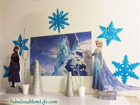 Frozen Decoration by Frozen Birthday Decorating Ideas Fabulous