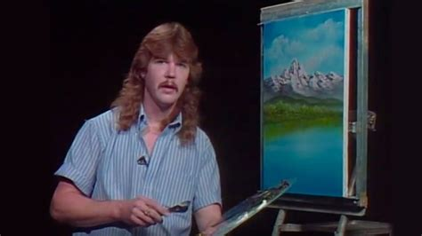 bob ross guest painter bob ross mountain lake falls season 29 episode 6