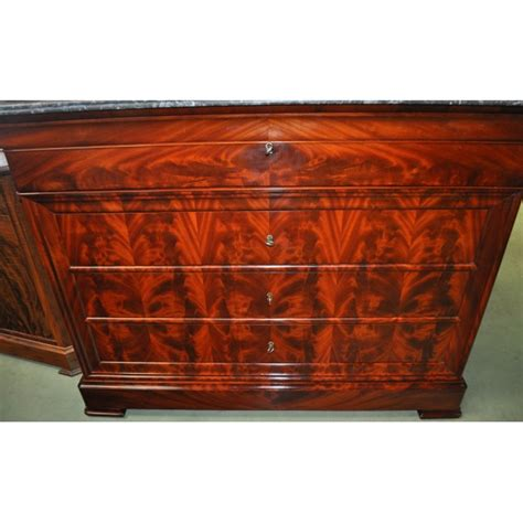 Commode Secretaire Louis Philippe by Commode Secr 233 Taire D 233 Poque Louis Philippe En Acjou De Cuba