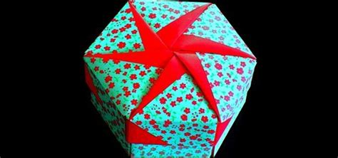 How To Make A Paper Present - how to make an origami gift box lid 171 origami wonderhowto