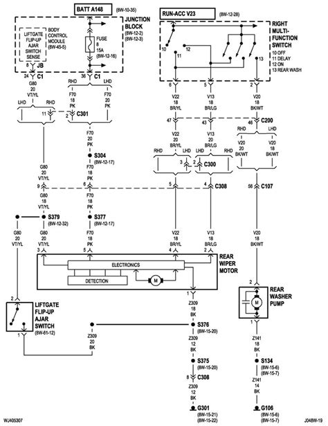 99 jeep grand power window wiring diagram 28 images