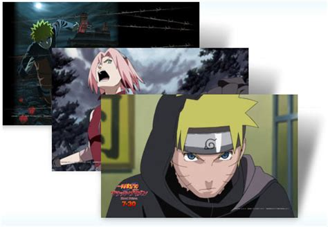 naruto themes pack naruto themepack for windows 7