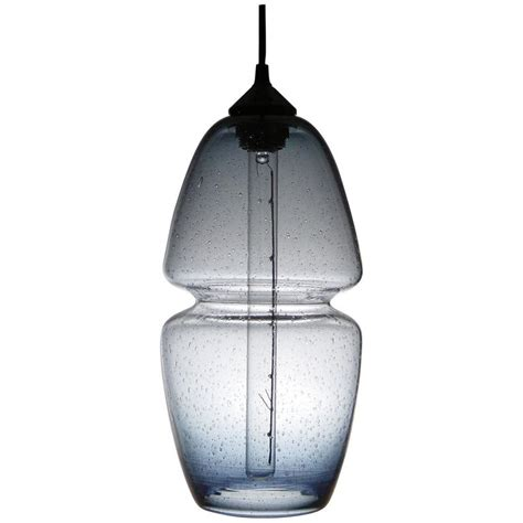 Handmade Glass Pendant Lights - groove series pod pendant contemporary handmade glass