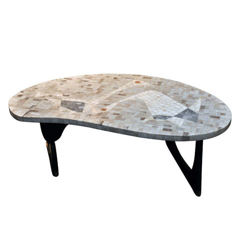mosaic noguchi style coffee table at 1stdibs